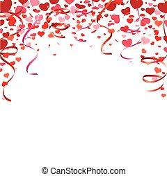 Confetti Hearts Garlands Cover