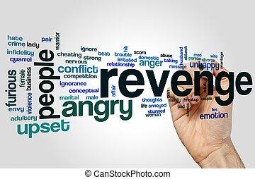 Revenge word cloud concept