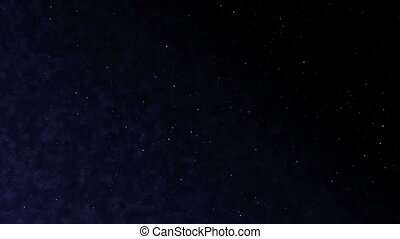 quot;loopable cloudy stars black empty space, 4kquot; -...