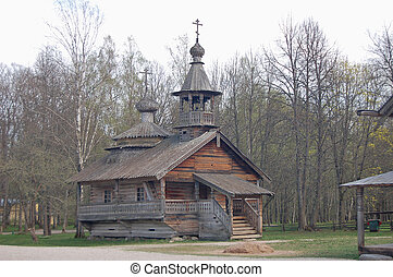 historical house - Russian wooden historical house