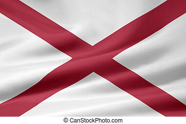 Flag of Alabama - Very large flag of Alabama