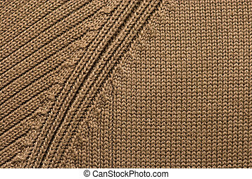 Texture of knitting wool