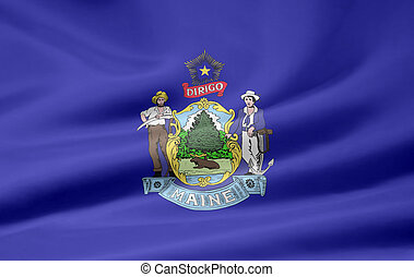 Flag of Maine - Very large flag of Maine