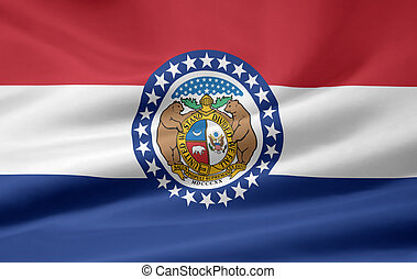 Flag of Missouri - Very large flag of Missouri