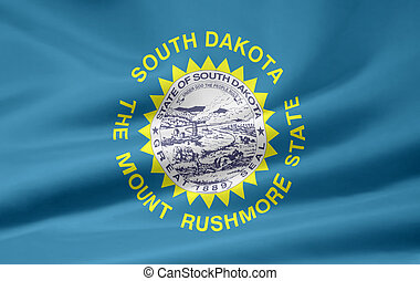 Flag of South Dakota - Very large flag of South Dakota