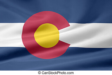 Flag of Colorado - Very large flag of Colorado