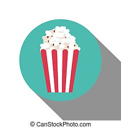 pop corn design, vector illustration eps10 graphic