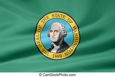 Flag of Washington - Very large flag of Washington