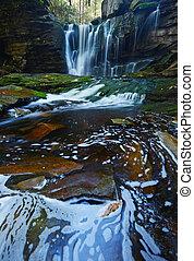 Waterfall in West Virginia