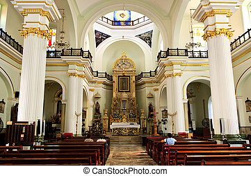 Church interior in Puerto Vallarta, Jalisco, Mexico - Our...