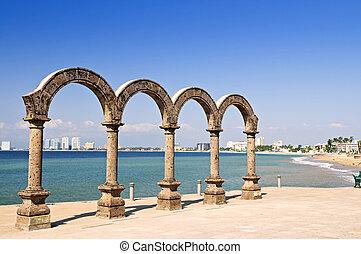 Los Arcos Amphitheater in Puerto Vallarta, Mexico - Los...