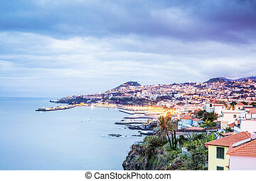 Capital city of Madeira, Funchal, Portugal - Beautifully...