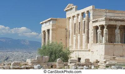 Acropolis, Athens, Greece, Timelapse, - Acropolis, Athens,...