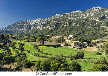orient village - Tramuntana mountains and orient village in...