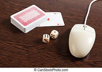 internet gambling - photo shot of internet gambling