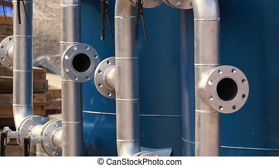 water filtration tanks pipe valves - water filtration tanks...