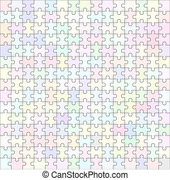 Jigsaw puzzle blank template 150 pieces