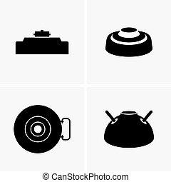 Land mines - Set of land mines