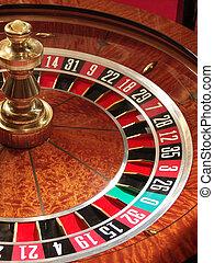 Roulette wheel                   - Roulette wheel