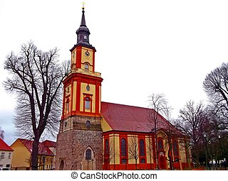 Mary Magdalene Church in Templin, Uckermark