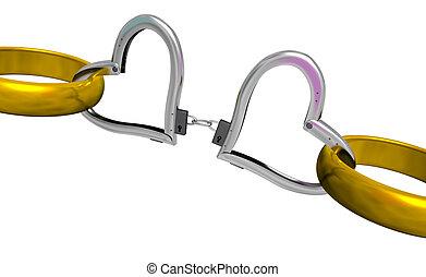 handcuff of love