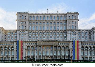 Bucharest, Romania – 1st December: Casa Poporului on...