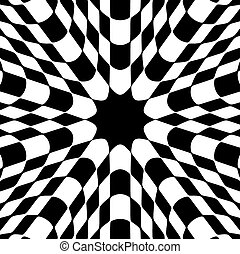 abstract checked background