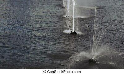 River fountain stream