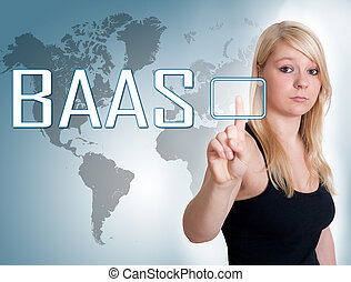 Backup as a Service - BaaS - Backup as a Service - young...