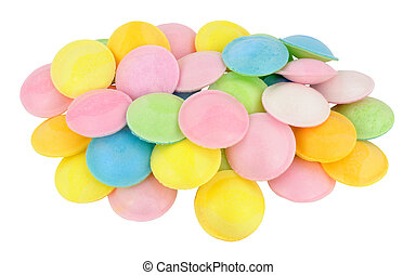 Flying Saucer Novelty Sweets - Sherbet filled rice paper...