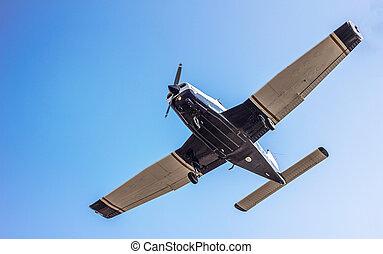 light sport aircraft Close up - sport airplane - sky...