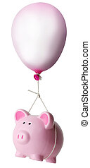 Piggy bank balloon