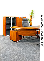Office furniture - Big working table in a modern office