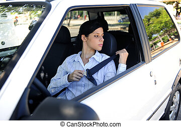 safety:, hembra, conductor, cierre, asiento, cinturón