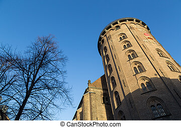 The round tower in Copenhagen - Photograph of the round...