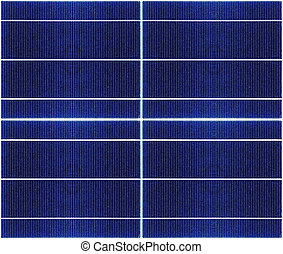 seamless texture of solar panel closeup