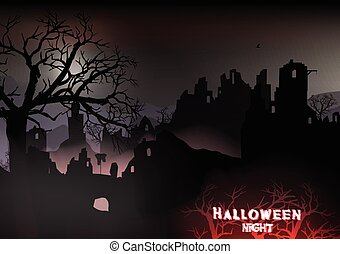 Horror Halloween Background