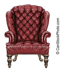 Antique Royal Chair - Luxury antique style royal chair with...