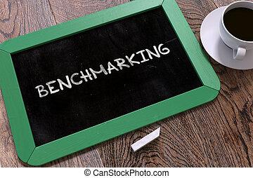 Benchmarking Handwritten by White Chalk on a Blackboard....