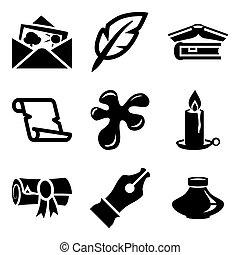calligraphic art icons