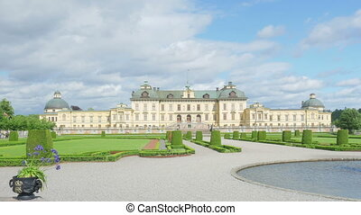 quot;drottningholm palace, stockholm, sweden, timelapse,...