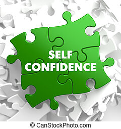 Self Confidence on Green Puzzle. - Self Confidence on Green...