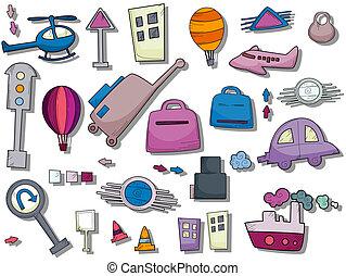Travel / Transportation Icons
