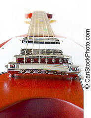 Flying V Guitar - Flying V Electric Guitar Closeup...