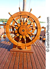 Steering Wheel - Captains Steering Wheel