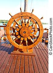 Steering Wheel - Captains Steering Wheel