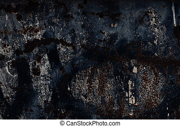 Abstract large rust surface background - Black Abstract...