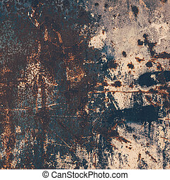 Abstract large rust surface background