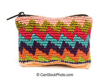 colorful change purse made in guatemala central america