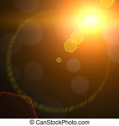 Lens Flare 01 - An HDR Lens Flare photography lighting...